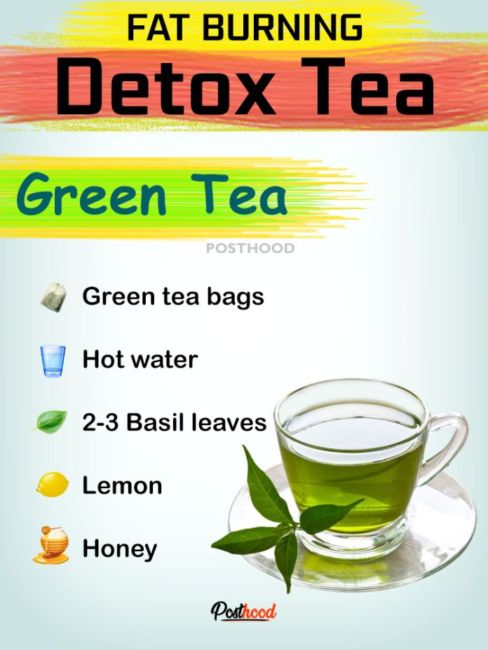 Green tea detox to cleanse your body and lose some belly fat. Try 15 more healthy ways to detox your body internally out. Best detox drinks and recipes.
