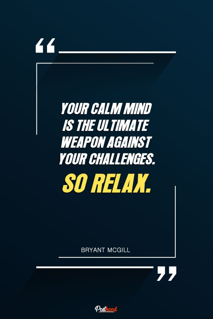 How to become calm and peaceful in a hard time? Read these motivational quotes to control your mind for peace and happiness.
