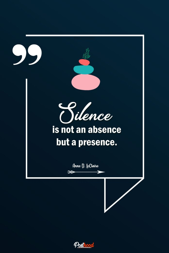 Explore the power of silence with meditation. Best yoga quotes on meditation, peace and train your mind.