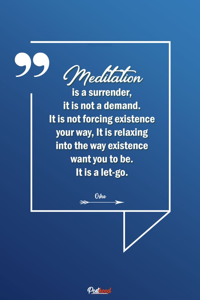 Read the best meditation quotes for stress and anxiety from famous spiritual gurus.
