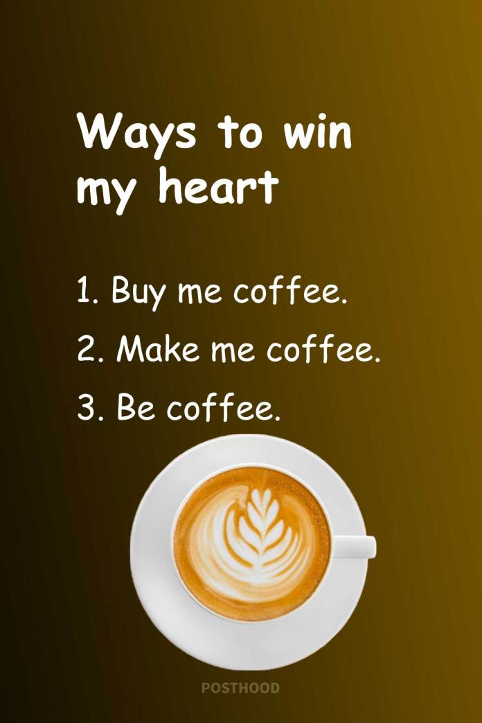 80 Funny Coffee Quotes for her that will match perfectly fit with her coffee love. A great collection of fun and love coffee quotes for women.