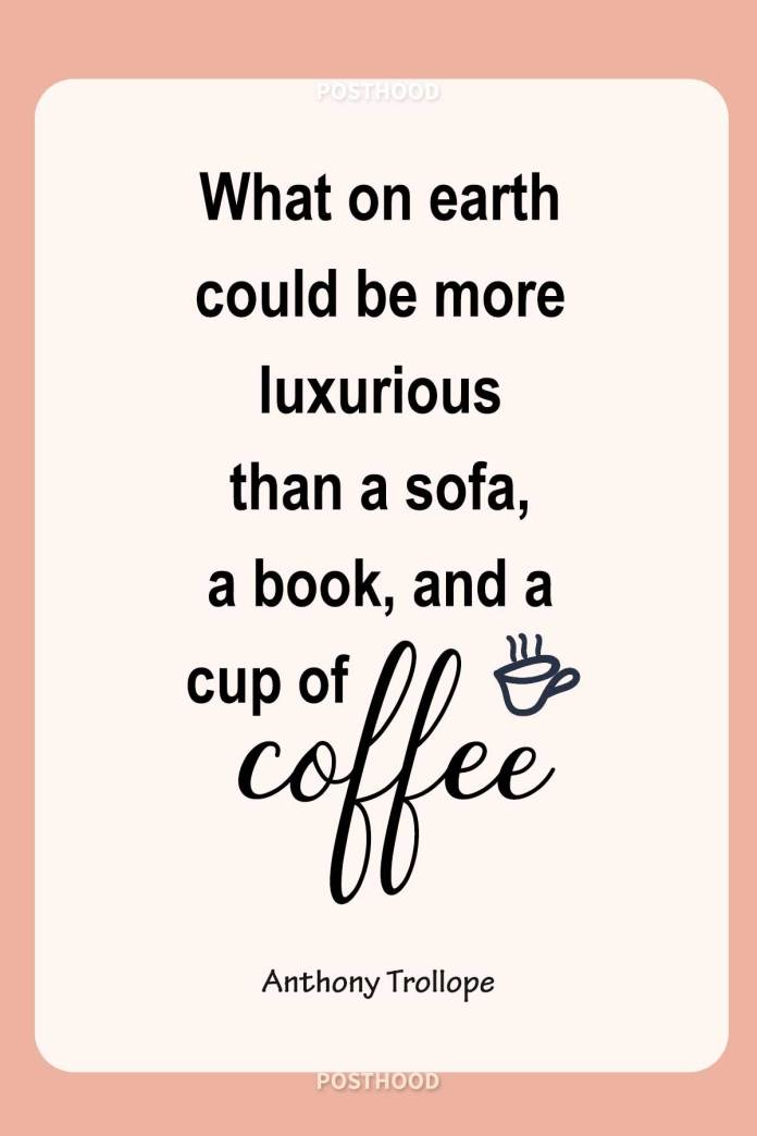 Relax and enjoy your me time with these fun and humor coffee quotes that will show how much you crave coffee when alone.
