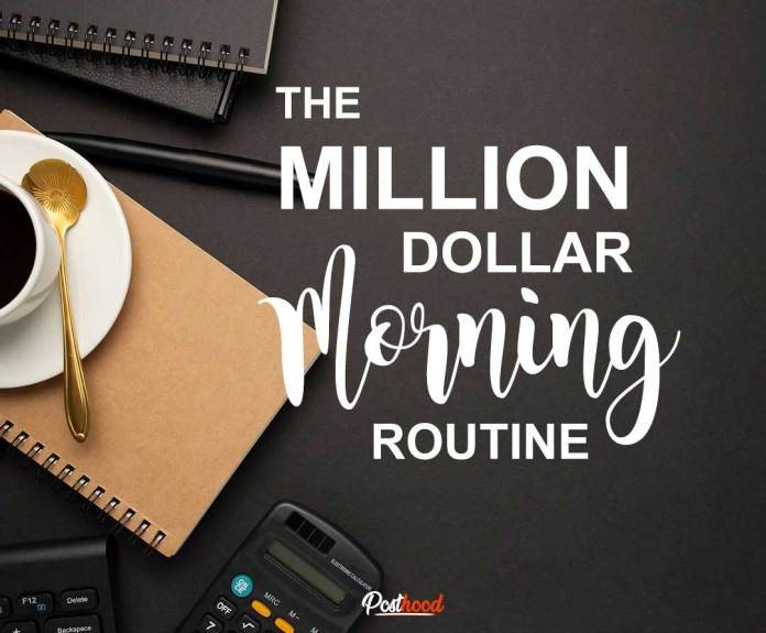 Adopt this million-dollar morning routine of people who earn 6-7 figure income. The productive morning routine of successful people.