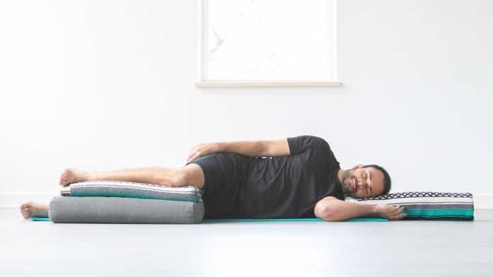 Restore your sleep with these easy yoga poses that will help to induce sleep fast. Best before-bed yoga poses for relaxation.