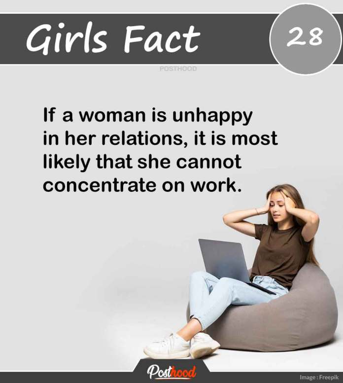 Know if a girl is happy in her relations or not with these great psychological facts about girls' mind, body, and behaviors.