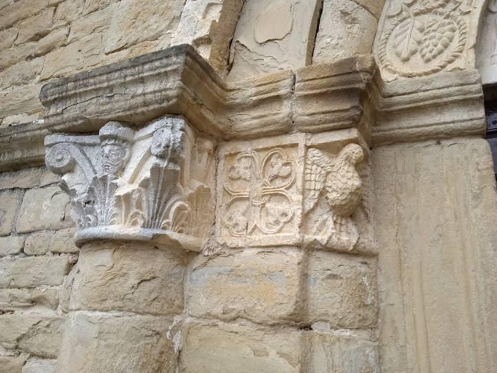I capitelli del portale