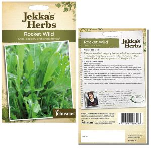 Jekka's Herbs - Rocket Wild Seeds by Johnsons
