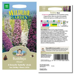 Mr. Fothergill's Seeds - Buddleja Mixed
