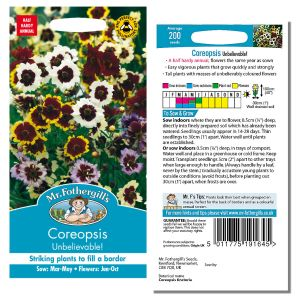 Mr. Fothergill's Seeds - Coreopsis Unbelievable!