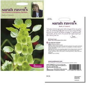 Sarah Raven's Bells of Ireland Seeds by Johnsons