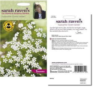 Sarah Raven's Gypsophila 'Covert Garden' Seeds by Johnsons