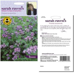 Sarah Raven's Phacelia tanacetifolia Seeds by Johnsons