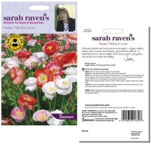 Sarah Raven's Poppy 'Falling in Love' Seeds by Johnsons