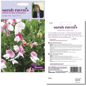 Sarah Raven's Sweet Pea 'Cupid Pink' Seeds by Johnsons