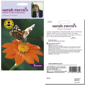 Sarah Raven's Tithonia 'Torchlight' Seeds by Johnsons