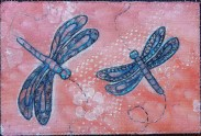 Sue Andrus, R22, Doodled Dragonflies 3