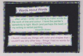 Lynn Chinnis, Words