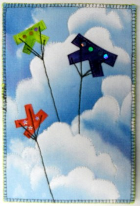 K is for Kite, Sherry Boram