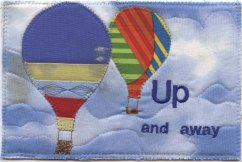 U is for Up and away, Kay Laboda