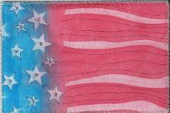 Alexis Gardner, Sunprint flag