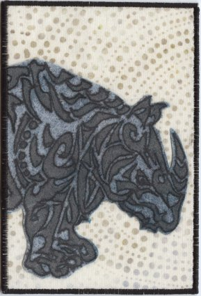 aureen Callahan, R is for rhino