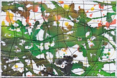Maureen Egan, R24, In the Style of Jackson Pollock