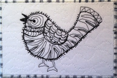 Debbie Einarson, R24, Zentangle 5