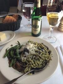 Pesto salad at La Luncheonette in New York