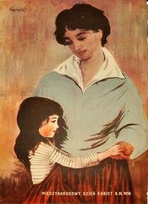Polish Poster by Irena Kuczborska 1956