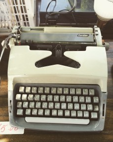 Typewriter at Aberfoyle Antique Market