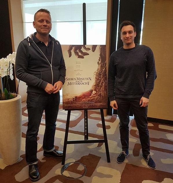 Patrick Ness and Martin Kulik