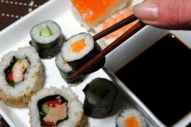 Sushi-with-chopsticks