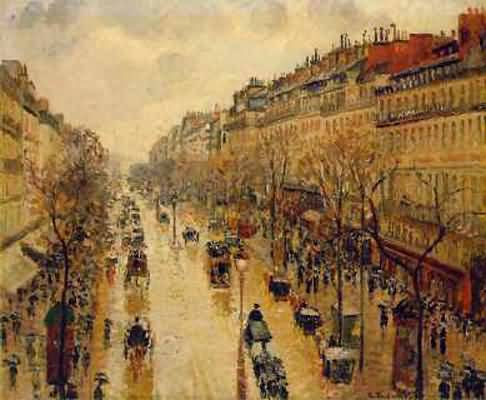 Boulevard Montmartre Camille Pissarro
