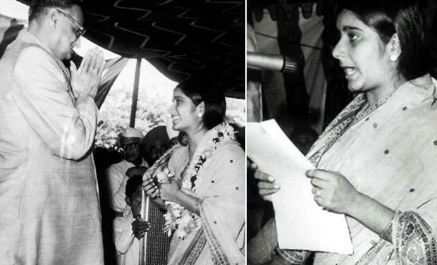 sushma-swaraj-sworn-as-youngest-ever-cabinet-minister-in-1977