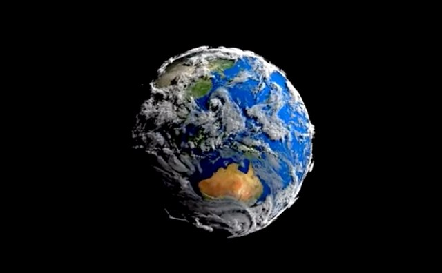 7 Days Long Time Lapse Video by NASA Shows Earth as an Amazing Living Creature