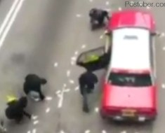Van Spills Millions Worth Notes on a Busy Hong Kong Road