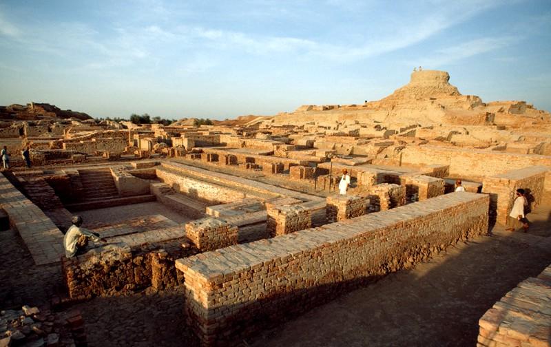 Mohenjodaro ruins