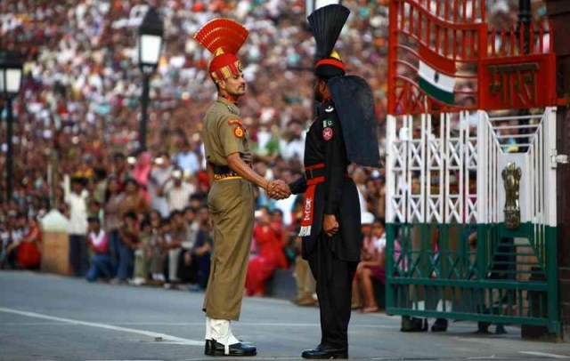 Wagah Border - Pakistan/India