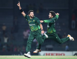 Shahid Afridi & Ahmed Shahzad – The Cutest Playmates in Cricket History?