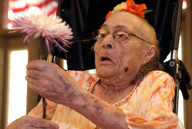 Gertrude Weaver oldest living person