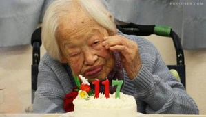 Misao Okawa - Oldest Known Person in World