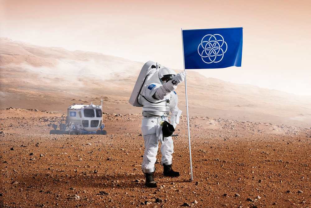 Our Earth Has Now An Official Flag