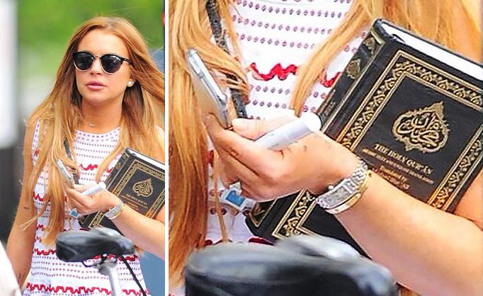 Lindsay Lohan Has Converted to Islam?