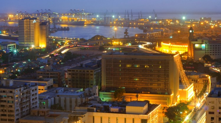 Karachi Port View by Ali Raza Khatri