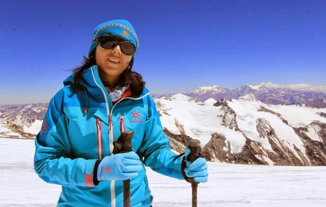 Samina Baig mountaineer from Hunza, Pakistan