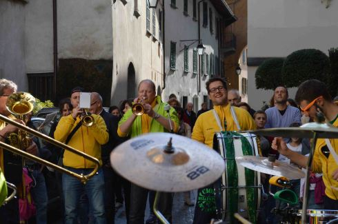 L'entusiasmo contagioso delle Guggenband svizzere