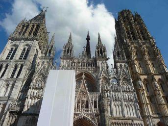La maestosa cattedrale di Rouen