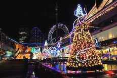 Luci natalizie a Tokio