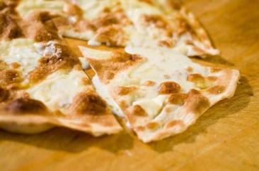 La focaccia al formaggio di Recco