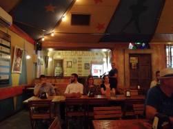 L'interno della birreria